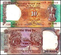 India 10 Rupees 1992 UNC (staple Holes) - India