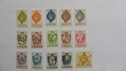 Liechtenstein :15 Timbres Neufs Charnière - Collections