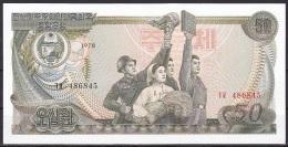 Korea/D.P.R.K:- 50 Won/P.21a (1978/No Seal On Back):- UNC - Corée Du Nord