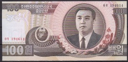 Korea/D.P.R.K:-  100 Won/P.43 (1992):- UNC - Korea, North