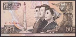 Korea/D.P.R.K:- 50 Won/P.42 (1992):- UNC - Korea, North