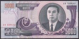 Korea/D.P.R.K:-  5000 Won/P.46b (2006):- UNC - Korea, Noord