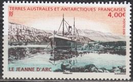 TAAF 2009 Yvert 523 Neuf ** Cote (2015) 16.00 Euro Navire Le Jeanne D´Arc - Terres Australes Et Antarctiques Françaises (TAAF)