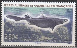 TAAF 2009 Yvert 525 Neuf ** Cote (2015) 10.00 Euro Requin à épines Dorsales - Terres Australes Et Antarctiques Françaises (TAAF)