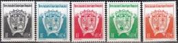 TAAF 2002 Yvert 322 - 326 Neuf ** Cote (2015) 2.00 Euro Armoiries - Terres Australes Et Antarctiques Françaises (TAAF)