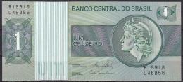 Brazil:- 1 Cruzeiro/P.191Ac (Series No. B15918):- UNC - Brésil