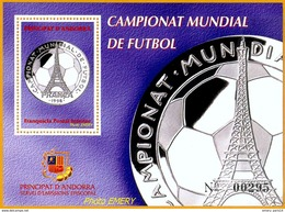 Andorra Viguerie Andorre**LUXE 1997 Bloc Feuillet 51 Foot - Timbres