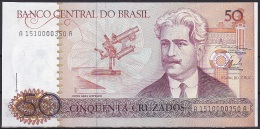 Brazil:- 50 Cruzados/P.210a (Signature No. 23):- UNC - Brésil