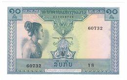 Laos  10 Kip, UNC. - Laos