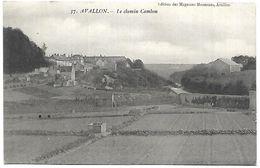 CP 840  CPA D'Avallon (89) Le Chemin Cambon - Avallon