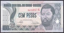 Guinea-Bissau:- 100 Pesos/P.11 (1990):- UNC - Guinea-Bissau