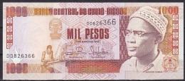 Guinea-Bissau:- 1000 Peso/P.13b (1990/GOVERNADOR/VICE-GOVERNADOR):- A-UNC - Guinea-Bissau