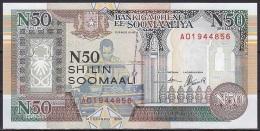 Somalia:- 50 Shilin/P.R2 (1991):- UNC - Somalie