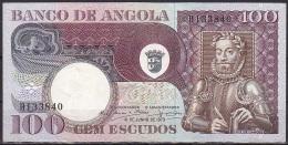 Angola:- 100 Escudos/P.106 (1973):- VF - Angola