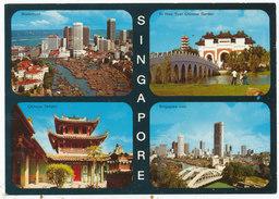 Singapore, Multiview Postcard - Singapore