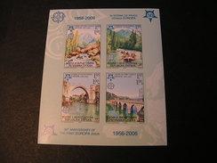 Bosnien Bl. 13 B Europa 2006  **  MNH Michel €  70,00   Weit Postpreis - 2006