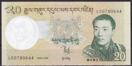 Bhutan:- 20 Ngultrum/P.30 (2006):- UNC - Bhoutan