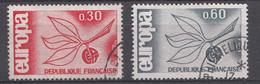 FRANCE 1965  Mi.nr: 1521-1522 Europa  Oblitérés-Used-Gestempeld - France