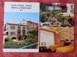 Dep 06 , Cpm  VENCE , Hotel Le PROVENCE , Multivues  (M03.077) - Vence
