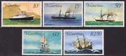 MAURITIUS 1976 Mail Carriers To Mauritius MNH - Mauritius (1968-...)