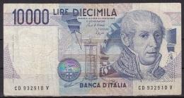 Italy:- 10,000 Lire/P.112b (Ciampi/Speziali): VG - [ 2] 1946-… : Républic