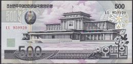 Korea/D.P.R.K:- 500 Won/P.44b (2007):- UNC - Korea, North