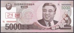 Korea/D.P.R.K - 5000 Won - P.66S (2008/Specimen) - UNC - Korea, North