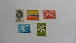 Liechtenstein : 5 Timbres Neufs - Collections