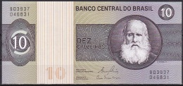 Brazil:- 10 Cruzeiros/P.193e (Signature 20/Series B03937):- A-UNC - Brazil