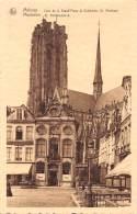MALINES - Coin De La Grand'Place Et Cathédrale St. Rombaut - Mechelen