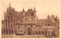 MALINES - Hotel De Ville Et Anciennes Halles Aux Draps - Mechelen