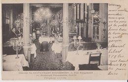 Intérieur Du Restaurant Rougemont - 2 Rue Rougement - 16 Boulevard Poissonnière - Paris - Arrondissement: 09