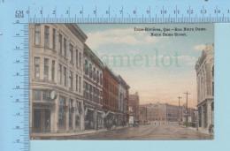 Trois-Rivieres Quebec Canada - Rue Notre-Dame   - Post Card Carte Postale - Trois-Rivières