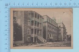 Trois-Rivieres Quebec Canada - Hopotal St-Joseph, Librairie Charbonneau  - Post Card Carte Postale - Trois-Rivières