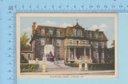 Trois-Rivieres Quebec Canada - L'Évèché , Monumemt Mrg Laflèche  - Post Card Carte Postale - Trois-Rivières