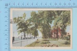 Trois-Rivieres Quebec Canada  - Boulevard Turcotte à Servi En 1949 + Timbre - Post Card Carte Postale - Trois-Rivières