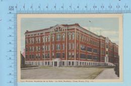 Trois-Rivieres Quebec Canada  - Académie De La Salle, A Servi En 1947 _+ Timbre - Post Card Carte Postale - Trois-Rivières