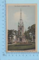 Trois-Rivieres Quebec Canada  -Cathedrale Et Parc Champlain - Post Card Carte Postale - Trois-Rivières