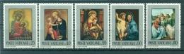 "Vatican 1971 - Mi. N. 581/585 - ""Madonne"" - Nuovi"