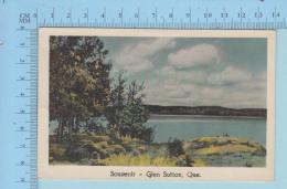 Glen Sutton Quebec Canada   -  Souvenir De  - Post Card Carte Postale - Otros