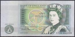 UK/Bank Of England:- 1 Pound/P.377b (Somerset):- A-UNC - 1952-… : Elizabeth II