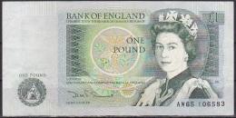 UK/Bank Of England:- 1 Pound/P.377b (Somerset):- F - 1952-… : Elizabeth II