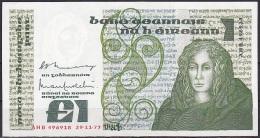 Ireland:- 1 Pound/P.70a (Murry/O'Murchu/29-11-1977):- A-UNC - Ireland