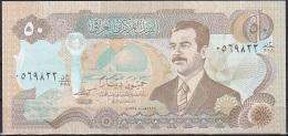 Iraq:- 50 Dinars/P.83 (1994/1414):- UNC - Iraq