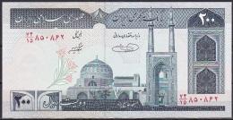 Iran:- 200 Rials/P.136e (Signature 31):- UNC - Iran