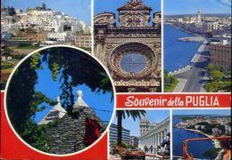 Souvenir Della Puglia - 16 - Formato Grande Viaggiata - E 3 - Bari