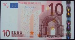 European Union:- 10 Euro/P.15t (Prefix T Ireland/Draghi):- UNC - EURO