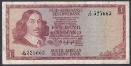 Souht Africa:- 1 Rand/P.110b (De Jongh/1966):- F - Südafrika