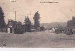 Carte Postale :Boitsfort (Belgique Près Bruxelles) Nouvelle Avenue Vers La Place    Tram     Rare      Nels 845 S 11 - Public Transport (surface)
