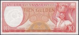 Suriname:- 10 Gulden/P.121 (1963):- UNC - Surinam